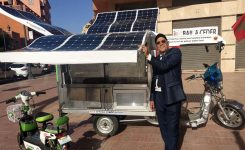 Le triporteur frigorifique solaire « Made in Morocco »